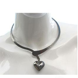 JeweleryART - stabile Halskette mit Herz