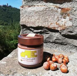 Crema spalmabile nocciole e cacao 200 gr.