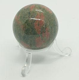 Kugel Epidot-Feldspat (Unakit)