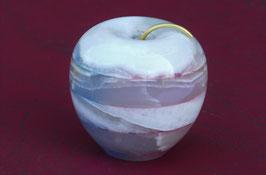 Apfel  gefärbt Aragonit ca 6 6 cm