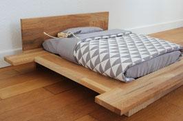 Katzenbett aus Eichenholz