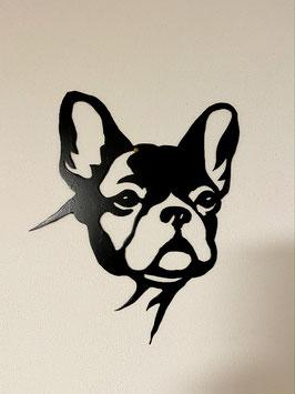 Französische Bulldogge (schwarz lackiert)