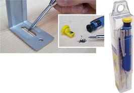 Bleispitz® dry-Tieflochmarker Set