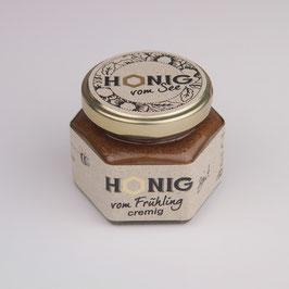 Honig mit Zimt - cremig