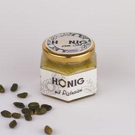 Honig mit Pistazien - cremig