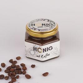 Honig mit Kaffee - cremig