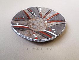 Keramikas asimetriskais šķīvis