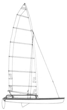 Hobie 17 Performance Mainsail