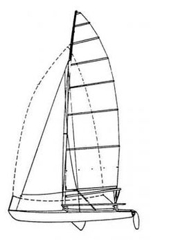 Hobie 21SE Performance Mainsail