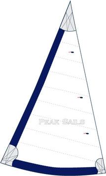 Cape Dory Typhoon Daysailer Bluewater Cruise 150% Furling Genoa