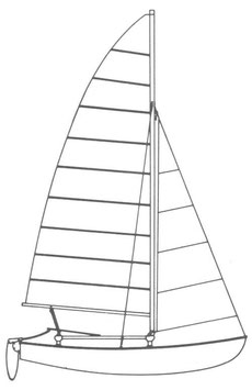 Hobie 16 Performance Mainsail