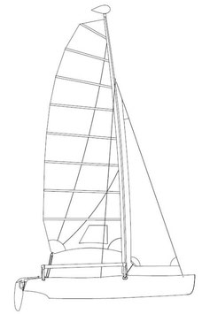 Hobie Getaway Performance Mainsail