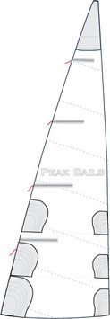 Com-Pac 19/2 & 19/3 Coastal Cruise Mainsail