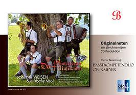Scheene Weisen & a frische Musi / Basstrompeten Duo in B (Notenheft Nr. 11b)