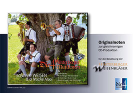 Scheene Weisen & a frische Musi / Bläserquartett (3. Stimme in B, C und F) Notenheft Nr. 10