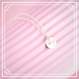 925er Silberkette mit Pusteblumenanhänger