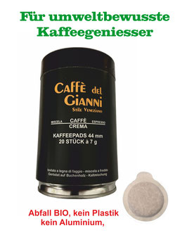 E.S.E. Crema Kaffeepads