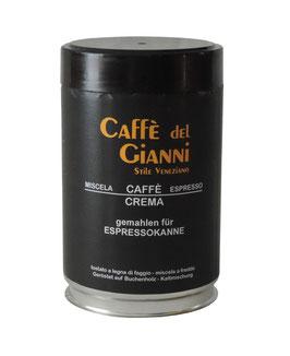 Caffe del Gianni CREMA gemahlen
