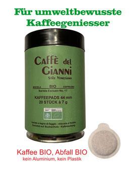 E.S.E. BIO Barista Kaffeepads