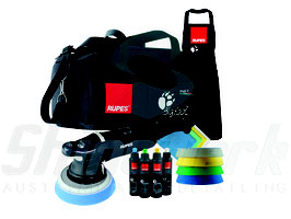 Rupes BigFoot LHR 21 Mark II Exzenter Poliermaschine, Deluxe Kit