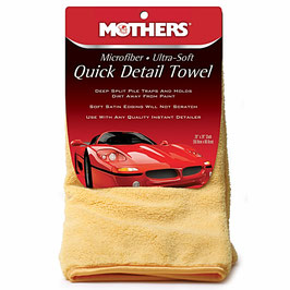 Mothers Quick Detail Towel