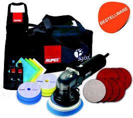 Rupes BigFoot LHR 12E Exzenter Poliermaschine, Deluxe Kit