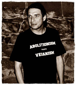 T-Shirt!                                              Abolitionism means Veganism