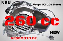 PT Motor 260 cc - Kit cilíndrico Quattrini - Vespa PX 200