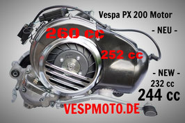 ID Mesin 260 cc - 244 cc - Quattrini Cylinderkit - Vespa PX 200