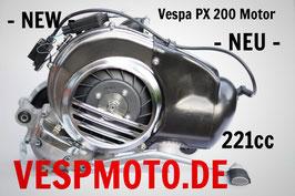Engine 221 cc Vespa PX 200 - Pinasco Slave reed valve