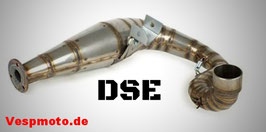 DSE Racing Exhaust - for Vespa PX 200