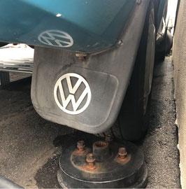 【希少】【当時物】VW T4 ヴァナゴン マッドフラップ 泥除け 右