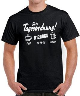 T-Shirt TAGESORDNUNG R1200GS Tuning Motorrad Teile Motorrad r 1200 gs , für BMW Biker