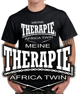 T-Shirt MEINE THERAPIE AFRICA TWIN Tuning Teile Zubehör crf1000L crf 1000 L, für Honda Biker