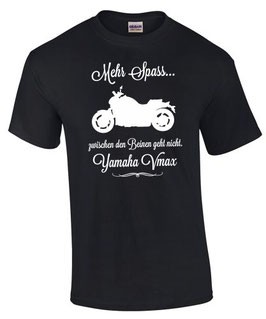 T-Shirt VMAX MEHR SPASS Tuning 1200 1700 Teile Zubehör v-max v max Motorrad Spruch , für Yamaha Biker