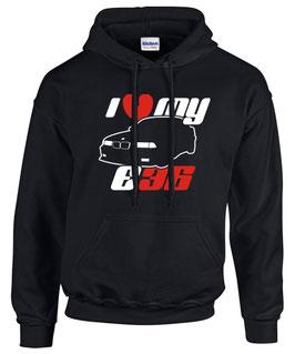 Sweatshirt E36 I LOVE MY Tuning Teile Zubehör Auto m3 m 3 e 36 3er Pulli Hoodie, für BMW Dreier