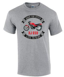 2 x T-Shirt SONDERANFERTIGUNG vorne und hinten bedruckt : XJ650 1 x Größe L, XJ900 1 x Größe L