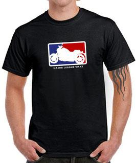 T-Shirt VMAX MAJOR LEAGUE Tuning 1200 1700 Teile Zubehör v-max v max Motorrad Fun Shirt, für Yamaha Biker
