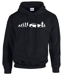 E46 Tuning Sweatshirt EVOLUTION Teile Zubehör 3er m3 m 3 Auto e 46 Hoodie, für BMW Dreier