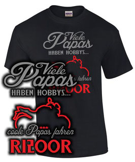 T-Shirt COOLE PAPAS FAHREN R1200R Tuning Teile Zubehör r 1200 r Vater Papa Geschenk , für BMW Biker