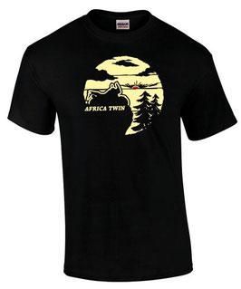 T-Shirt AFRICA TWIN OFF ROAD Motiv Tuning Teile Zubehör crf1000L crf 1000 L, für Honda Biker