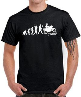 T-Shirt EVOLUTION AFRICA TWIN tuning crf 1000 l CRF1000L Teile Zubehör, für Honda Biker