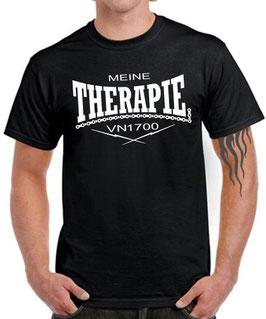 T-Shirt VN 1700 MEINE THERAPIE Tuning Teile Zubehör vn1700 Motorrad , für Kawasaki Biker