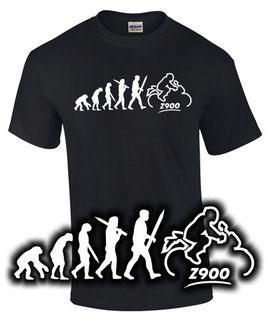 T-Shirt Z900 EVOLUTION Tuning Teile Zubehör z 900 Motorrad, für Kawasaki Biker