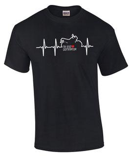 T-Shirt NX 650 DOMINATOR T-Shirt HERZSCHLAG Teile Zubehör Tuning nx650, für Honda Biker