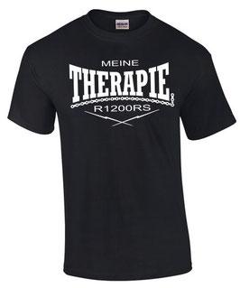 T-Shirt R1200RS THERAPIE Tuning Teile Zubehör Motiv Motorrad r 1200 rs , für BMW Biker