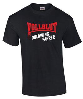 T-Shirt VOLLBLUT GOLGWING FAHRER gold wing 1200 1500 1800 F6B F6C Zubehör, für Honda Biker