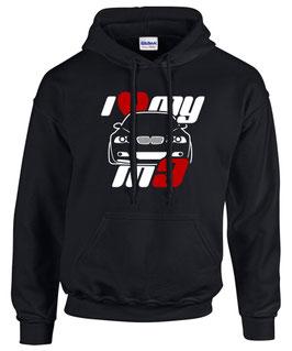 Sweatshirt e46 I LOVE MY M3 Tuning Teile Zubehör Auto m 3 e 46 3er Pulli Hoodie, für BMW Dreier