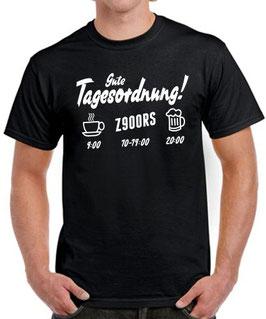 T-Shirt Z900RS TAGESORDNUNG Tuning Teile Zubehör z 900 rs z900 rs Motorrad Funshirt, für Kawasaki Biker