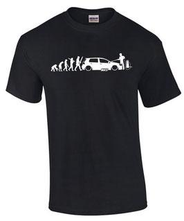 Golf 5 T-Shirt EVOLUTION MK5 Tuning Teile Zubehör gti gtd r32 r 32 tdi mk , für VW Golf